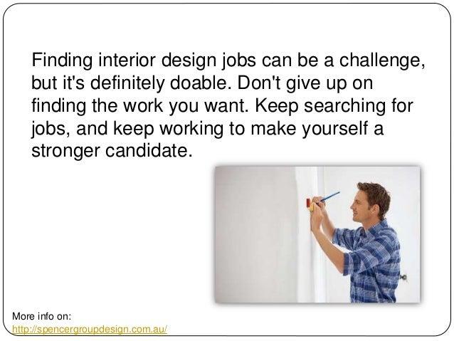 9 Finding Interior Design Jobs