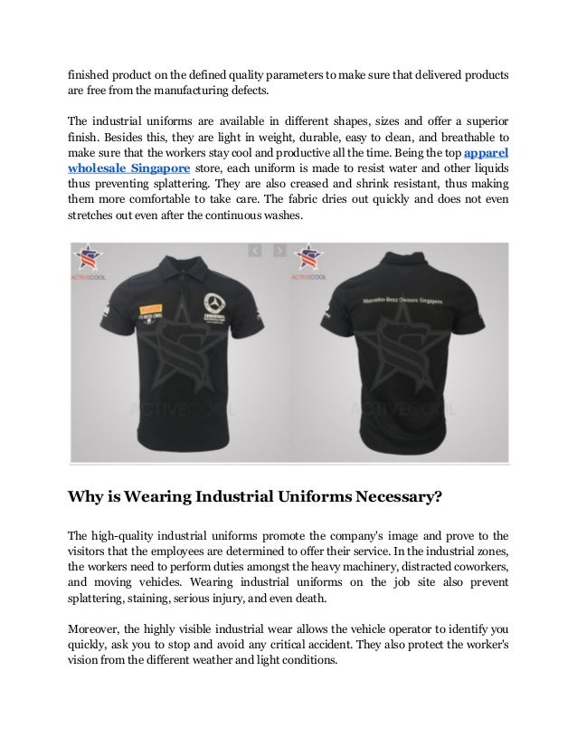 Where to shop perfect fit security guard uniforms in singapore