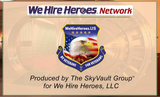 We Hire Heroes Network: overview