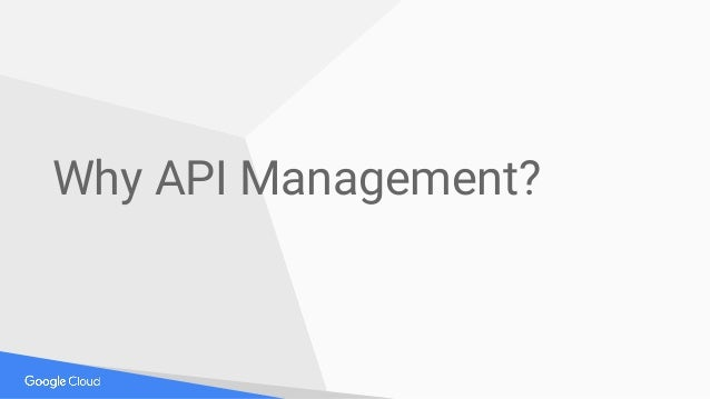 Why API Management?