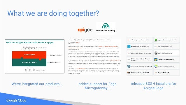 Integration Options - Flexibility & Choice Route Services CF Meta Buildpack* * Edge Microgateway Buildpack available today...