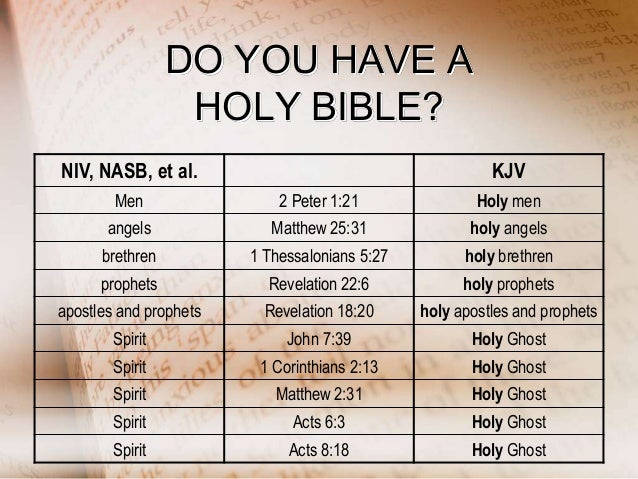 Which Bible Is Gods Word