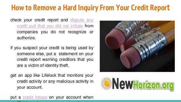 Which Credit Inquiries Can Hurt Your Credit Scores