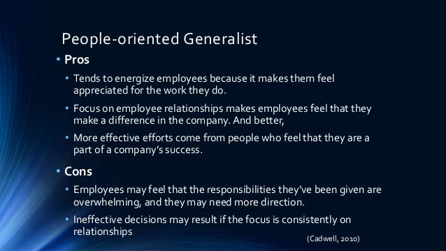 hr generalists vs specialist essay Students searching for hr generalist vs benefits specialist found the following information and resources relevant and helpful.