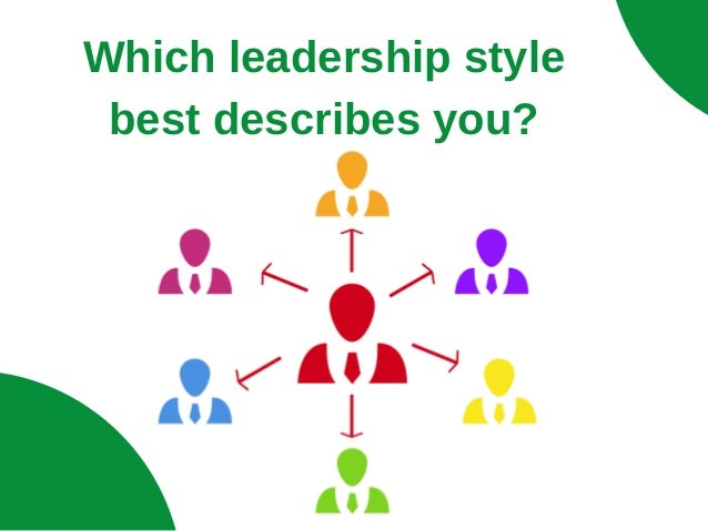 Which leadership style best describes you?