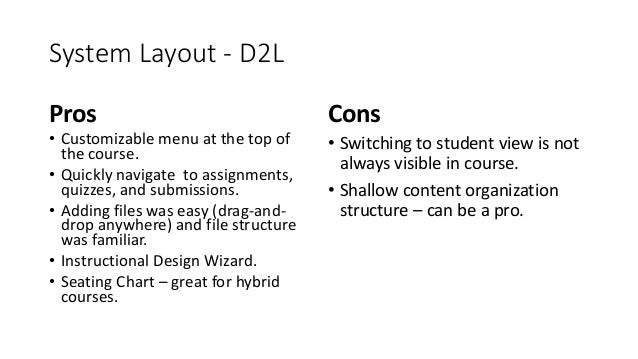 Which Lms Is The Best Pros And Cons Of Blackboard D2l