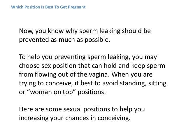 Best conception position sex