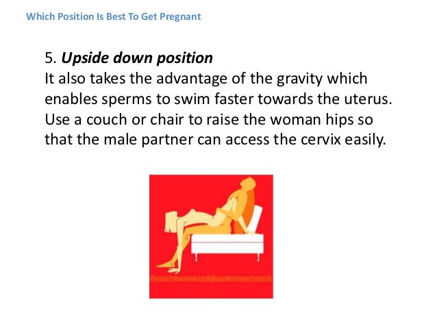 8 best sex positions for getting pregnant