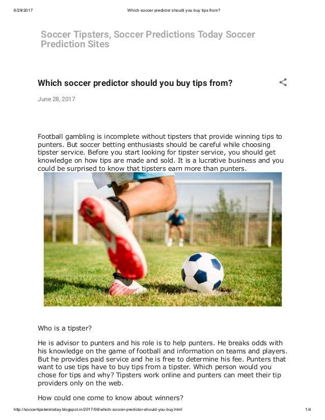 Soccer Prediction