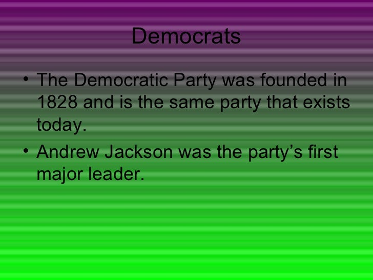 democrat essay The democratic party and republican party dominate america but differ greatly in their philosophies and ideas democrats have a philosophy that is liberal.