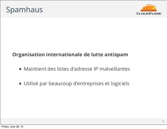 Spamhaus DDoS - FR Slide 2