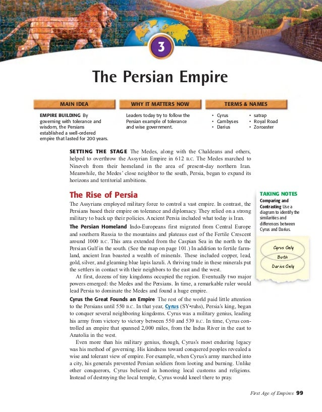 world history chapter 4 section 3 the persian empire rh slideshare net Persian Empire Flag Ancient Persian Empire
