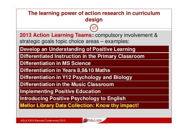 Classroom Action Research Design ~ Action research in curriculum design