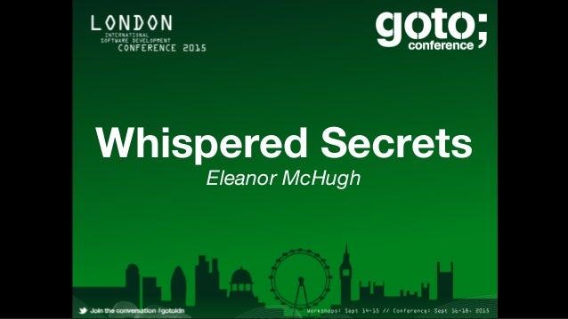 Whispered Secrets Eleanor McHugh