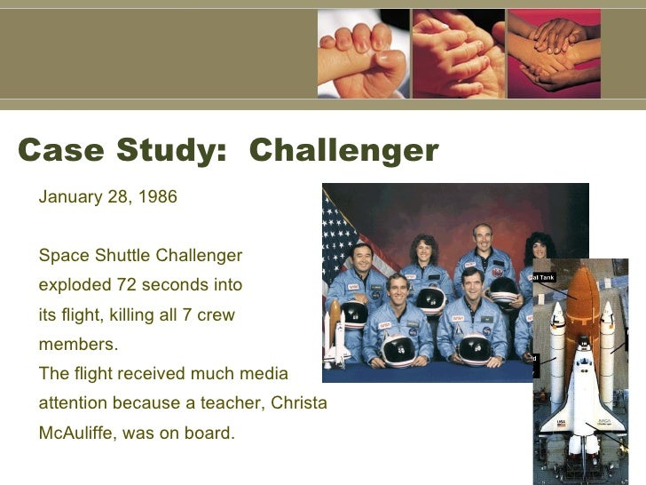 space shuttle challenger case study - photo #29
