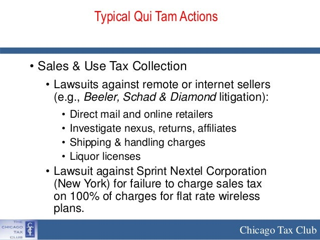 New York State Sales Tax Rate >> Whistleblower and Class Action Lawsuits in Sales Tax ...