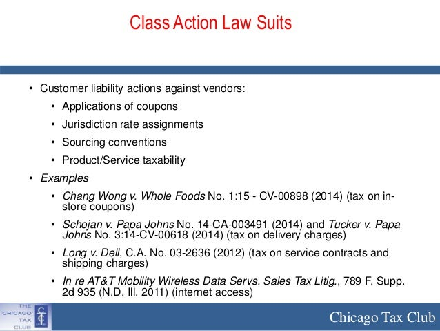 whistleblower and class action lawsuits in sales tax: dammed if you d…