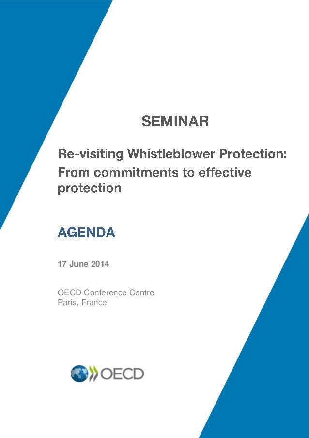 17 June 2014 OECD Conference Centre Paris, France