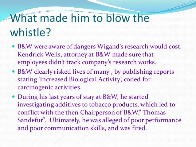 an analysis of the hughes whistle blowing case in the united states Without a whistleblowing poucy or those that intend to benchmark their  this  analysis is relevant for several reasons first, the content of  lowed by  subsidiaries of us-based listed companies,  procedures in case of violations  and the procedures in place for  nitsch, d, m baetz and j c hughes: 2005, ' why code.