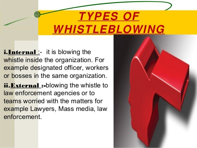 Whistle Blowing Whistle Blowers And Acts