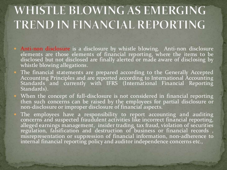 an essay on the issue of whistle blowing in the workplace Whistle blowing is informing on illegal and unethical practices in the workplace it is becoming increasingly common as employees speak out about their ethical concerns at work.