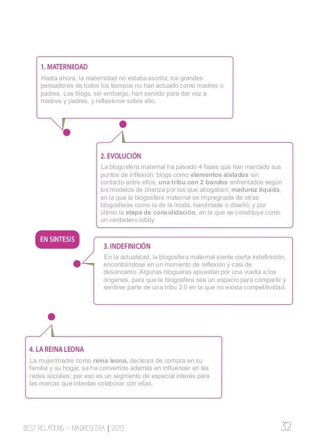 5. LAS MARCAS Un 6% de la blogosfera maternal califica su relación con las marcas como nefasta y un 24% como mala. Sin emb...