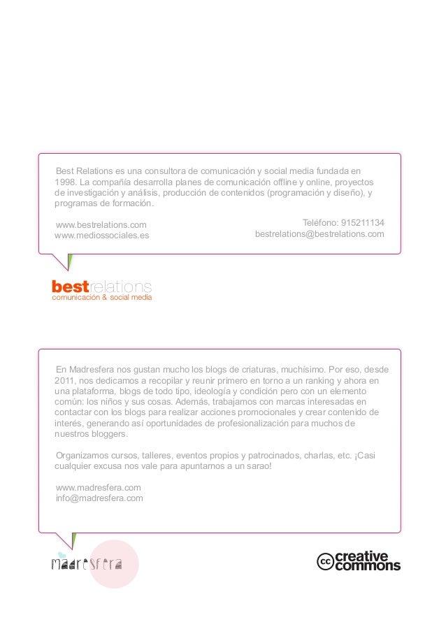 Marcas y blogosfera maternal: ¿amor de madre? - White paper Best Relations