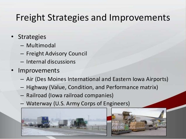 Freight Planning in Iowa