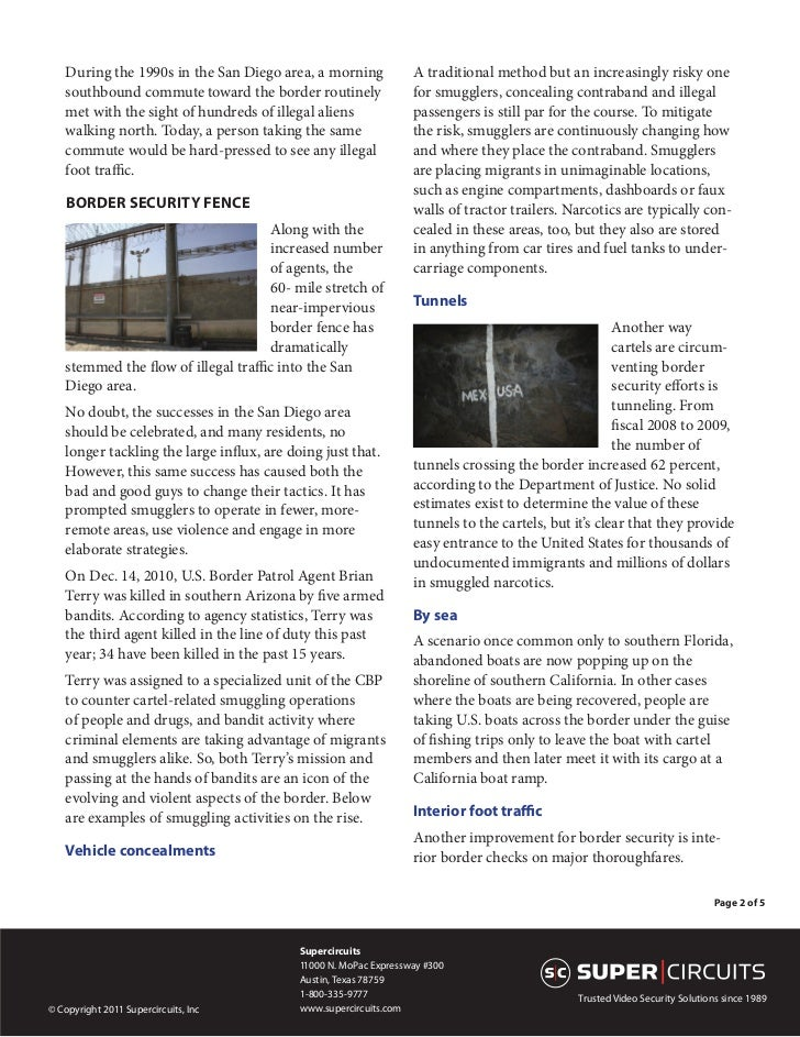 White Paper: Border Security: The Other Story Slide 2