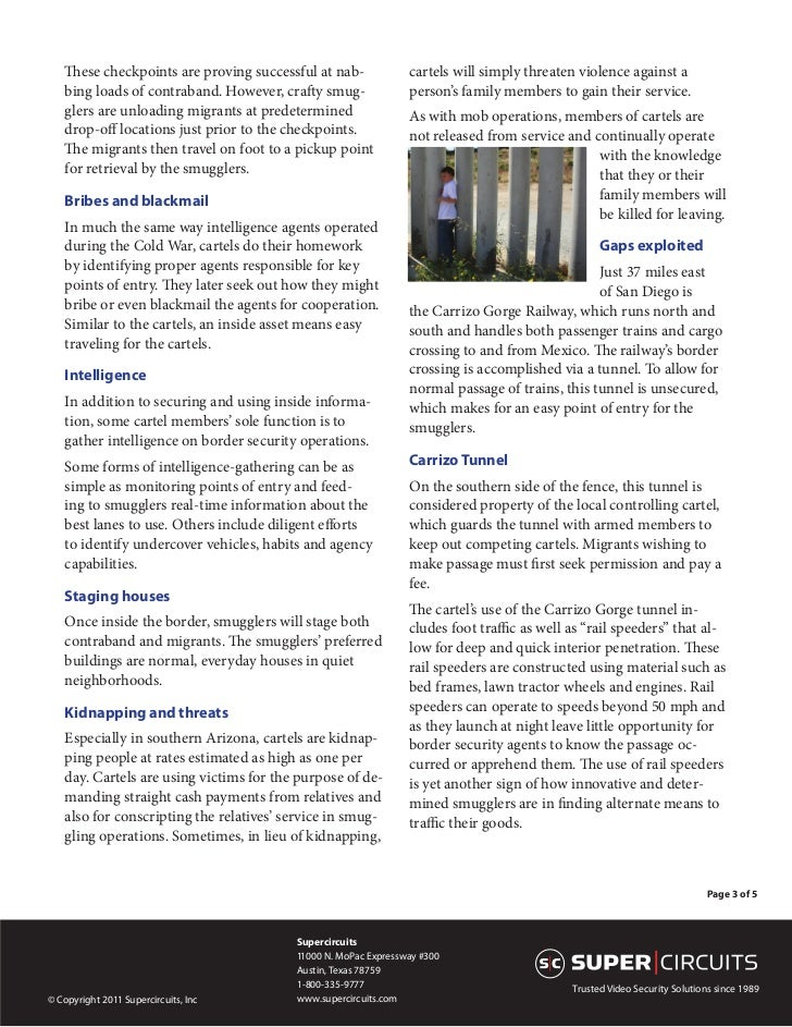 White Paper: Border Security: The Other Story Slide 3