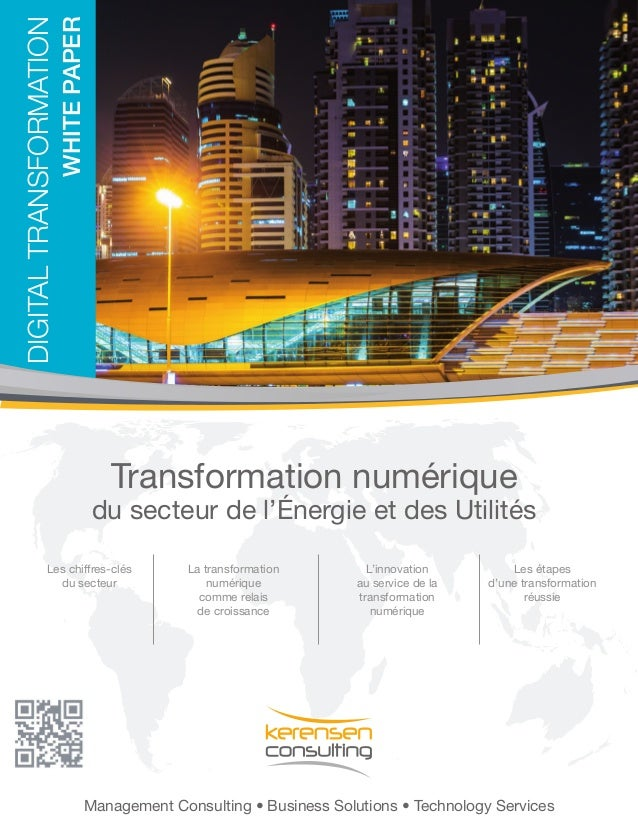 Management Consulting • Business Solutions • Technology Services DIGITALTRANSFORMATION WhitePaper Transformation numérique...