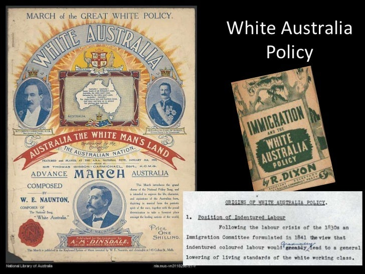 the white australia policy essay A comparison of the 2003 and 2017 australian foreign policy white papers, particularly with regard to aid, the pacific, and labour mobility.