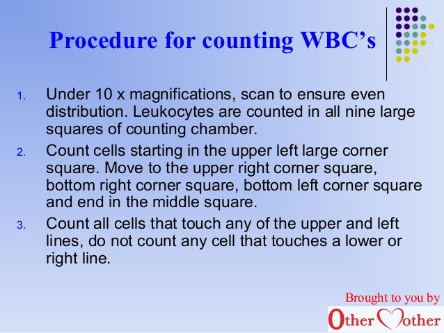 differential leukocyte count procedure