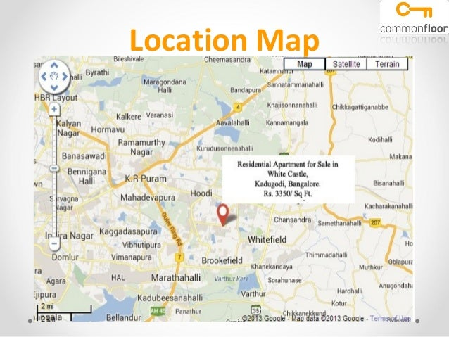 White Castle Bangalore Kadugodi Properties In Kadugo\u2026: White Castle Location Map At Slyspyder.com