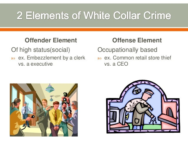 prevention of white collar crime Preventing and punishing white-collar crime - punishing white-collar crime  involves jail time and fines learn about punishing white-collar crime.