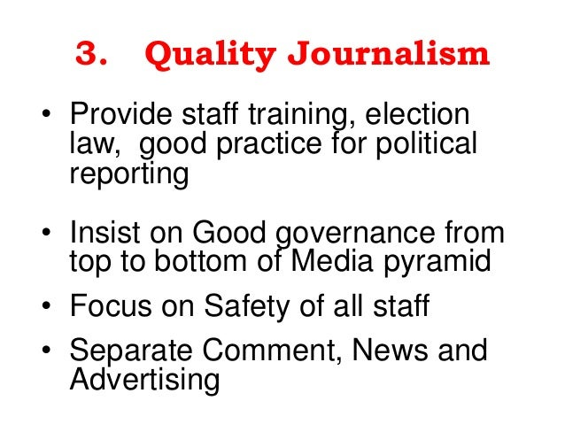 ethical media professionals Center for journalism ethics  solutions to low media trust not clear by  we honor the best in ethical journalistic practice and will not hesitate to call.
