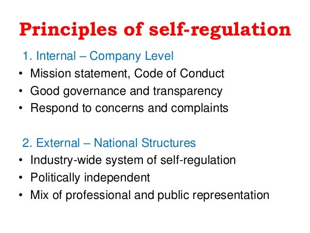 what media self regulation When we talk about social media self-regulation, a number of questions will crop up who will create a code of ethics to be adapted to the online environment what kind of challenges does convergence bring to social media self-regulation.