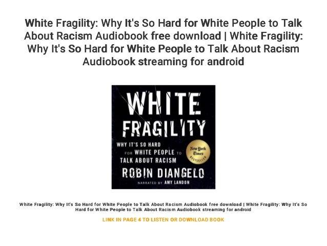 White Fragility Audiobook | Online Listen | Audiobook X