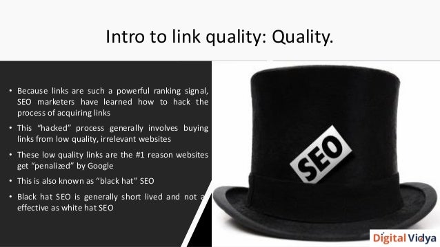 SEO: White Hat Link Building in 2016