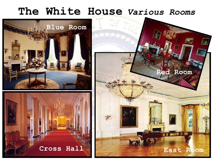 The White House   Various Rooms Blue Room Cross Hall East Room Red Room