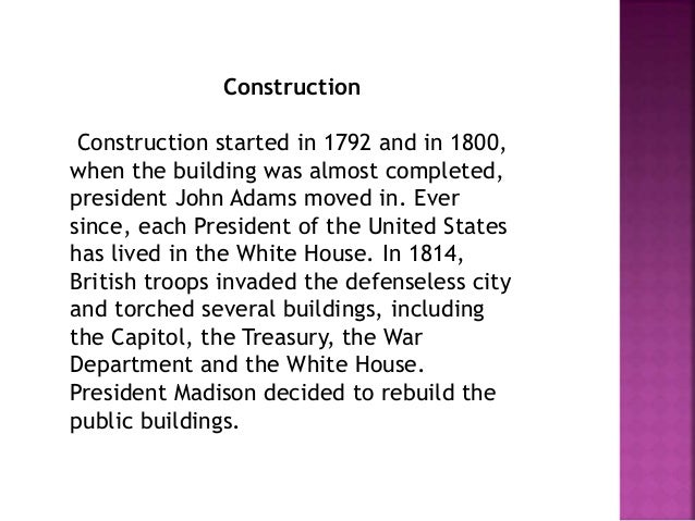 The Name  Most people seem to think the building was first painted  white after it was rebuilt in 1817, but already in 179...