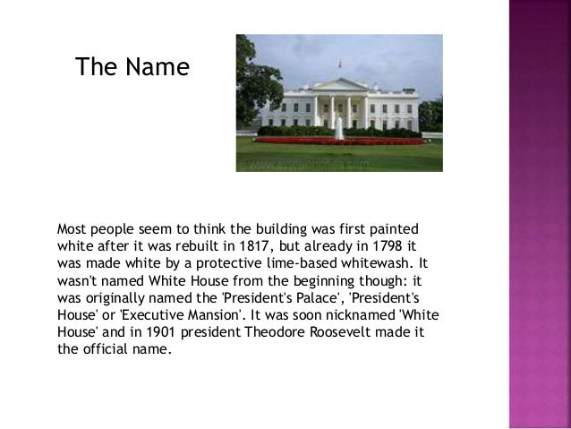 The White House is the oldest public building in Washington, DC and  has been the home of every president except George Wa...