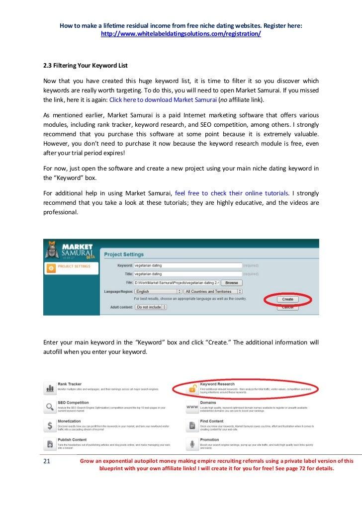 Whitelabeldating provider connect