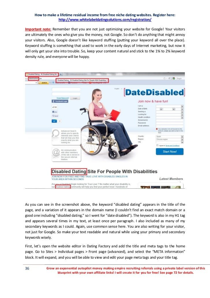 Dating with Disabilities