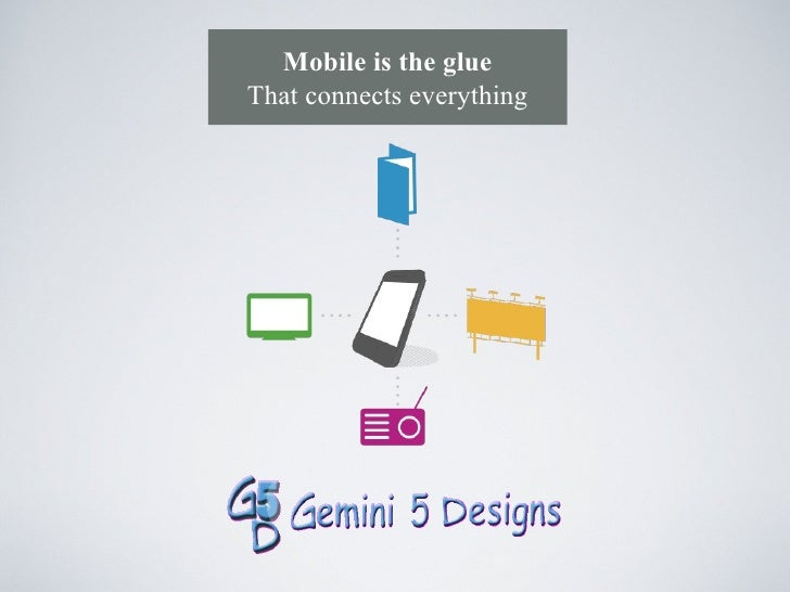 Mobile is the glueThat connects everything
