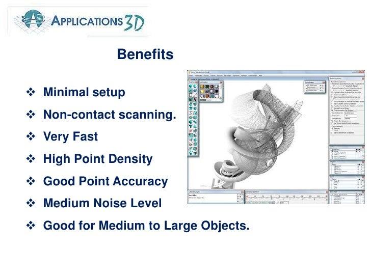 Benefits <br /><ul><li>  Minimal setup