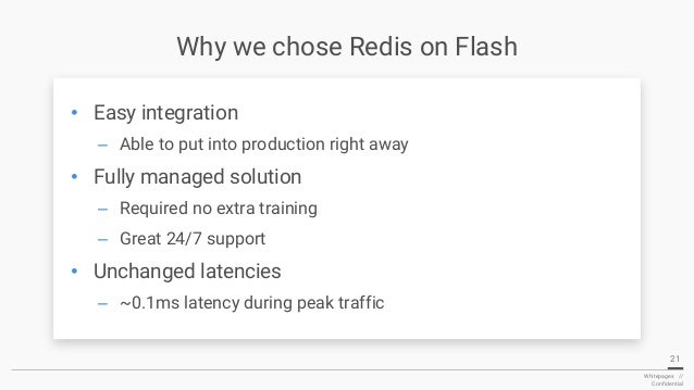 RedisConf18 - Scaling Whitepages With Redison Flash
