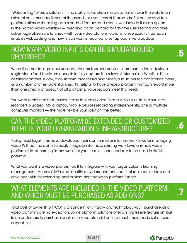 White Paper - 9 Ways Today's Legal Industry Uses Video to