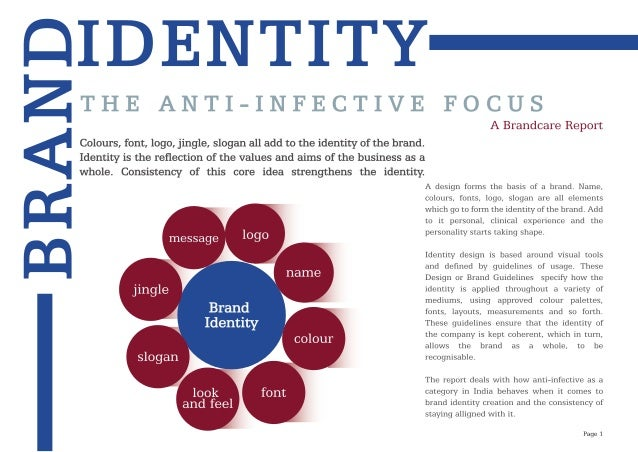 the importance of brand identity Brand identity includes both the core identity and the extended identity such as an increasing importance on the symbolic value of products.