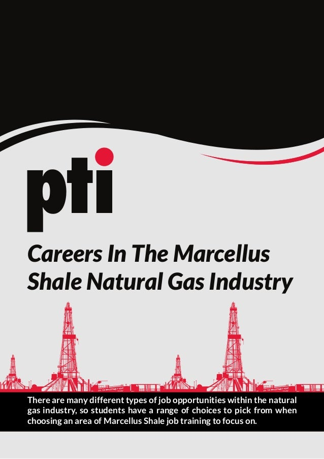 Careers In The Marcellus Shale Natural Gas Industry  There are many different types of job opportunities within the natura...